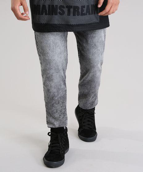 Calca-Jeans-Skinny-em-Moletom-Preta-8767845-Preto_1