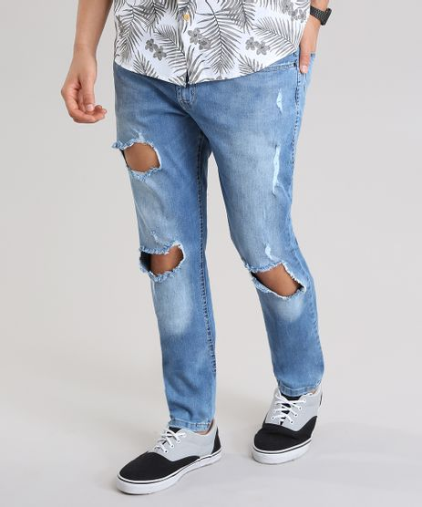 Calca-Jeans-Skinny-Destroyed-Azul-Medio-8756234-Azul_Medio_1