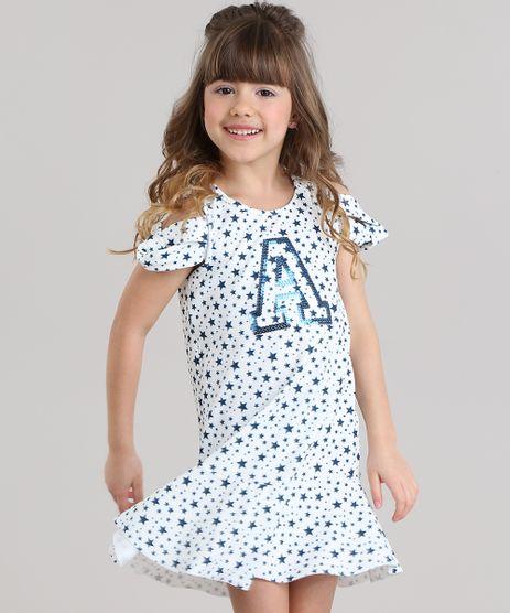 Vestido-Open-Shoulder-Estampado-de-Estrelas-com-Paetes-Branco-8719826-Branco_1