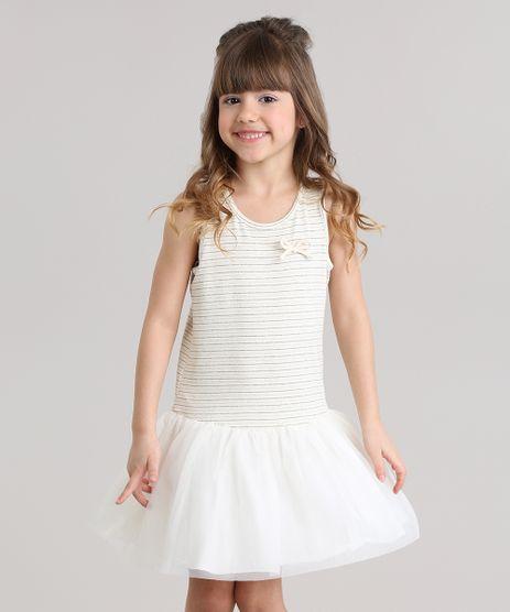 Vestido-Listrado-com-Lurex-e-Tule-Bege-Claro-8827343-Bege_Claro_1