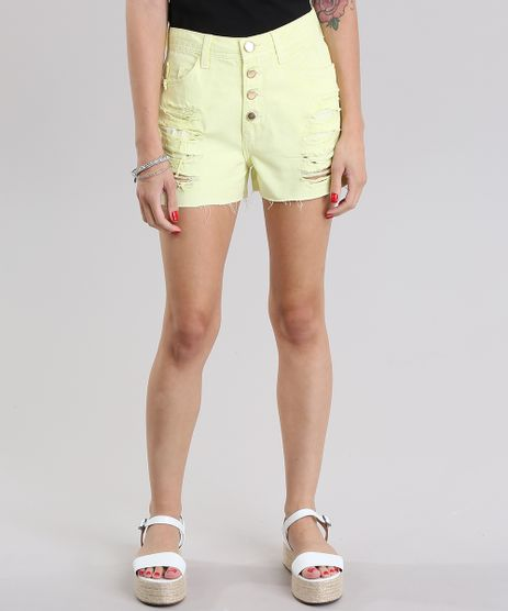 Short-Vintage-Destroyed-Amarelo-8826140-Amarelo_1