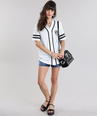 ... Camisa--Baseball--Off-White-8845886-Off White 1 ... 2dd6e5b894d