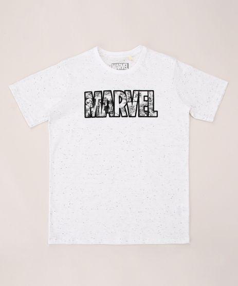 Camiseta-Juvenil-Marvel-Flocada-Manga-Curta-Off-White-9970625-Off_White_1