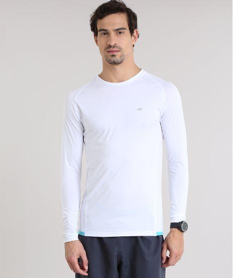 4c9512139 Camiseta de Corrida Ace com Proteção UV Branca - cea