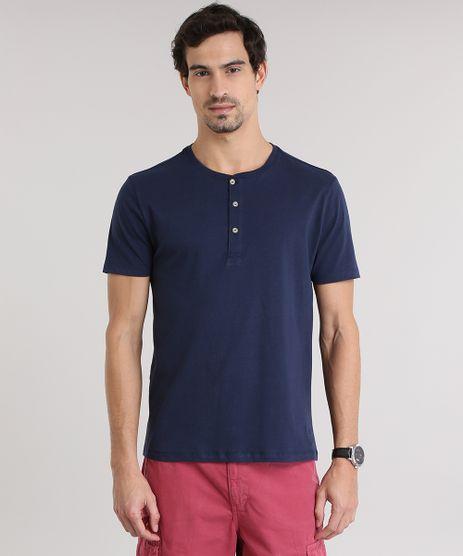Camiseta-Basica-com-Botoes-Azul-Marinho-8845797-Azul_Marinho_1