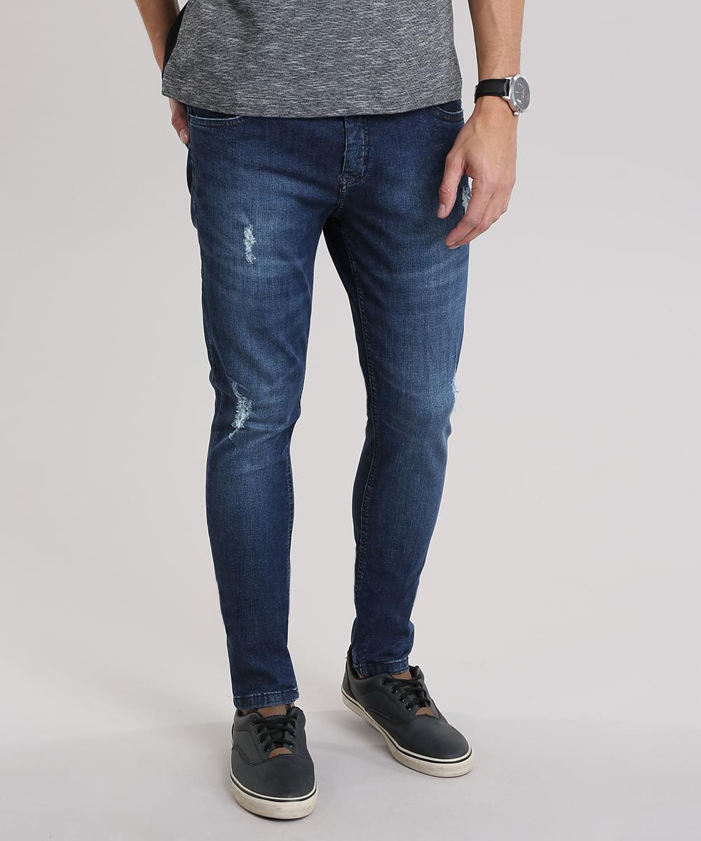 eb1a5a4c4 ... Calca-Jeans-Skinny-Destroyed-Azul-Escuro-8892299-Azul_Escuro_1