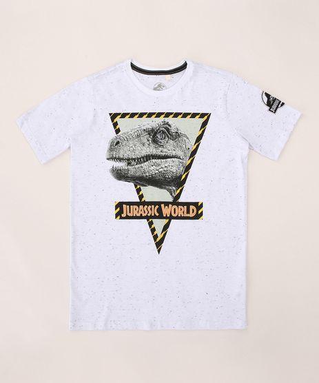 Camiseta-Juvenil-Jurassic-World-Manga-Curta-Branca-9970810-Branco_1