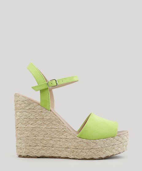 Sandalia-Plataforma-em-Suede-com-Corda-Verde-Claro-8873862-Verde_Claro_1