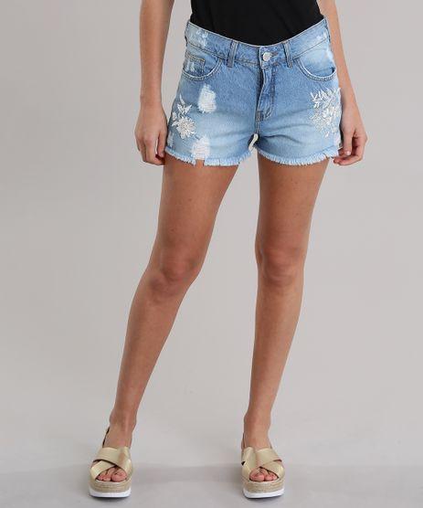 Short-Jeans-Relaxed-com-Bordado-Azul-Claro-8826143-Azul_Claro_1
