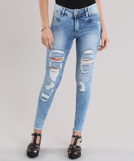 Calca-Jeans-Super-Skinny-Destroyed-Sawary-Azul-Medio-8865784-Azul_Medio_1