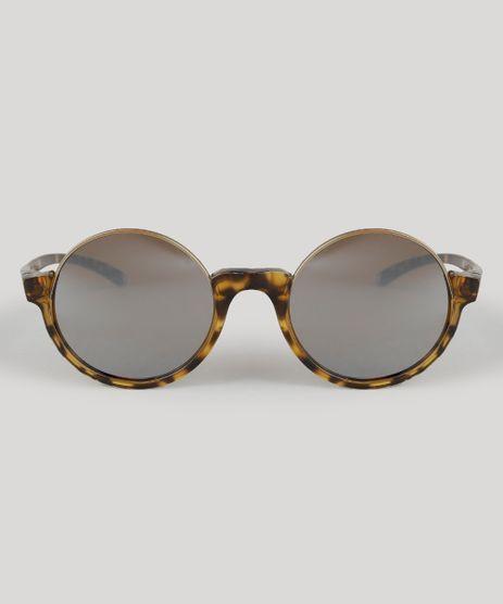 Oculos-de-Sol-Redondo-Feminino-Cia--Maritima-Tartaruga-8883306-Tartaruga_1