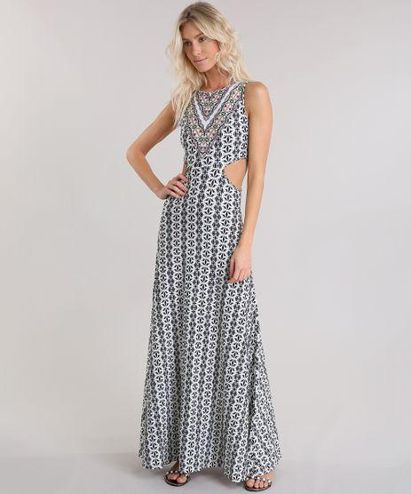 Vestido-Longo-Cia--Maritima-Estampado-Etnico-Branco-8776412-Branco_1