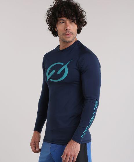 Camiseta-Blueman-com-Protecao-UV-Azul-Marinho-8886430-Azul_Marinho_1