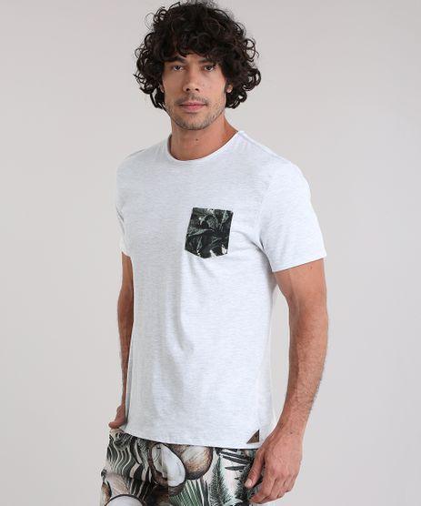 Camiseta-Agua-de-Coco-com-Bolso-Estampado-Coqueiros-Cinza-Mescla-Claro-8927185-Cinza_Mescla_Claro_1