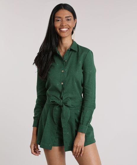 Camisa-Agua-de-Coco-com-Linho-e-Amarracao-Verde-Escuro-8759894-Verde_Escuro_1