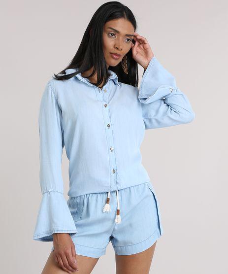 Camisa-Jeans-Agua-de-Coco-Azul-Claro-8858774-Azul_Claro_1