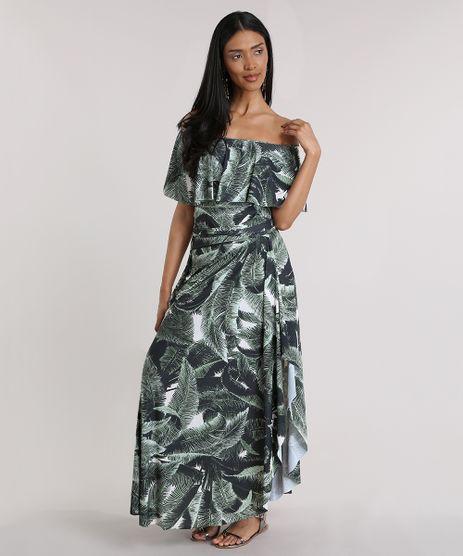 Vestido-Longo-Agua-de-Coco-Estampado-Coqueiros-Verde-Escuro-8806757-Verde_Escuro_1