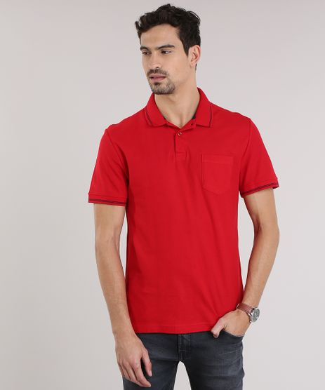 Polo-em-Piquet-com-Bolso-Vermelha-8862210-Vermelho_1