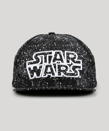 Bone-Star-Wars-Estampado-Preto-8897910-Preto_1