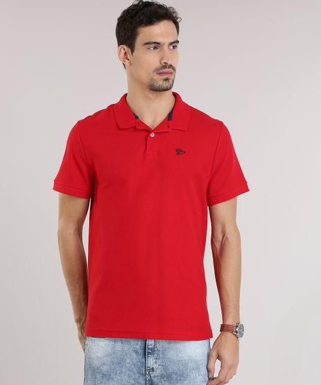 Polo-em-Piquet-Vermelha-8846565-Vermelho_1