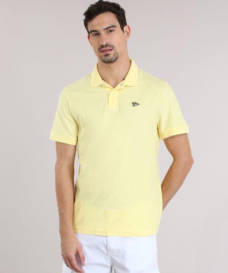 Polo-em-Piquet-Amarela-8846599-Amarelo_1