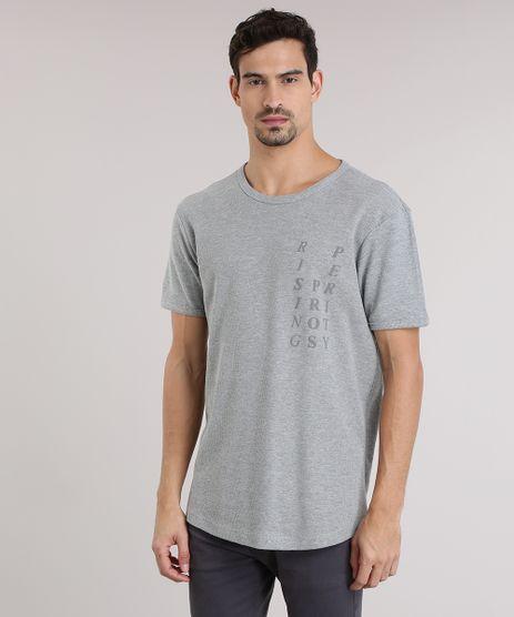 Camiseta-Longa-com-Estampa--Rising-Prosperity--Cinza-Mescla-8775961-Cinza_Mescla_1