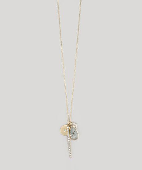 Colar-Longo-com-Strass-Dourado-8717410-Dourado_1