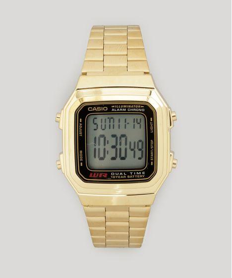 41608bb3c36 Relogio-Digital-Casio-Feminino---A178WGA1ADFU-Dourado-7731553- ...