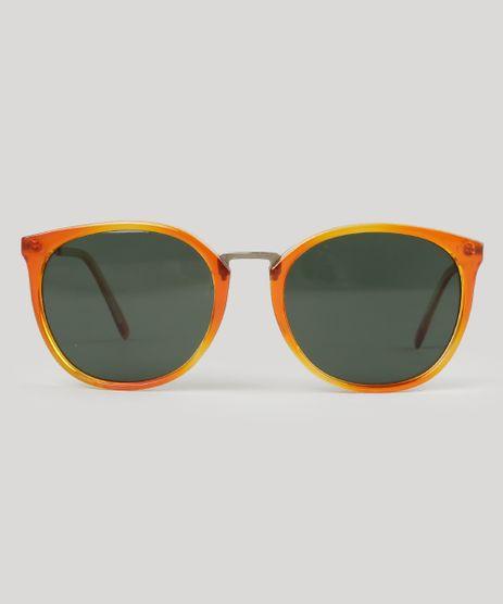 Oculos-de-Sol-Redondo-Unissex-BlueMan-Laranja-8883297-Laranja_1
