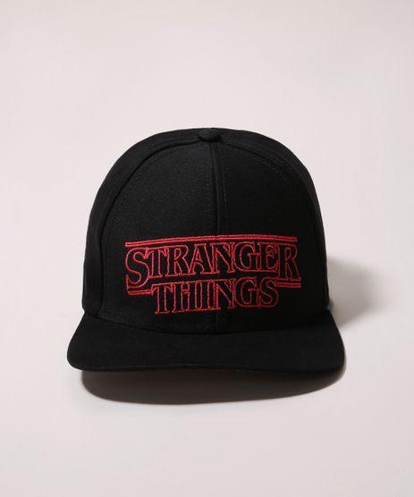Bone-Infantil-Aba-Reta-Stranger-Things-com-Bordado-Preto-9970790-Preto_1