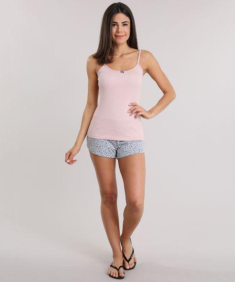 Short-Doll-Estampado-de-Poa-Rose-8830873-Rose_1