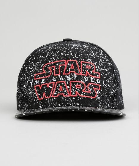 7802e7c99a487 Bone-Star-Wars-Estampado-Preto-8884355-Preto 1 ...