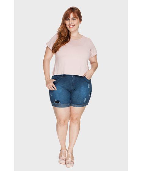 d5f6de83b cea · Moda Feminina · Shorts e Bermudas. Plus Size. 3 3