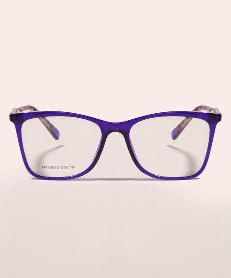 Armacao-para-Oculos-de-Grau-Feminina-Quadrada-Roxa-9950448-Roxo_1
