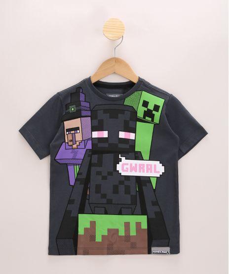 Camiseta-Infantil-Minecraft-Manga-Curta-Chumbo-9967036-Chumbo_1