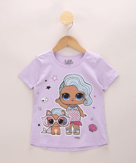Blusa-Infantil-Ampla-LOL-Surprise-com-Glitter-Manga-Curta-Lilas-9969973-Lilas_1