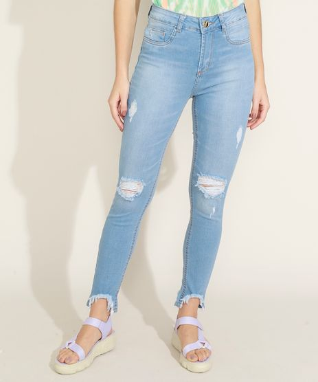 Calca-Jeans-Feminina-Sawary-Cigarrete-Levanta-Bumbum-Cintura-Alta-Destroyed-Azul-Claro-9969410-Azul_Claro_1