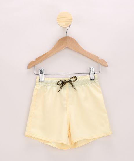 Bermuda-Surf-Infantil-com-Bolso-Amarela-9945766-Amarelo_1