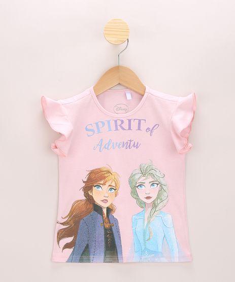 Blusa-Infantil-Frozen-com-Glitter-Manga-Curta-com-Babado-Rosa-Claro-9967479-Rosa_Claro_1