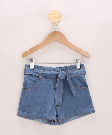 Short-Jeans-Infantil-Clochard-com-Faixa-para-Amarrar-Azul-Medio-9970590-Azul_Medio_1