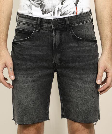 Bermuda-Jeans-Masculina-Slim-Preta-9963153-Preto_1