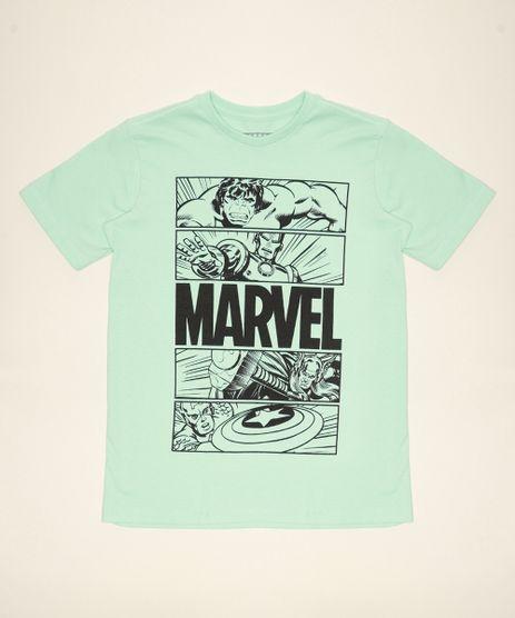Camiseta-Juvenil-Os-Vingadores-Manga-Curta-Verde-Claro-9967032-Verde_Claro_1