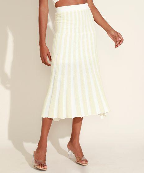 Saia-de-Trico-Feminina-Midi-Plissada-Listrada-com-Lurex-Off-White-9957268-Off_White_1