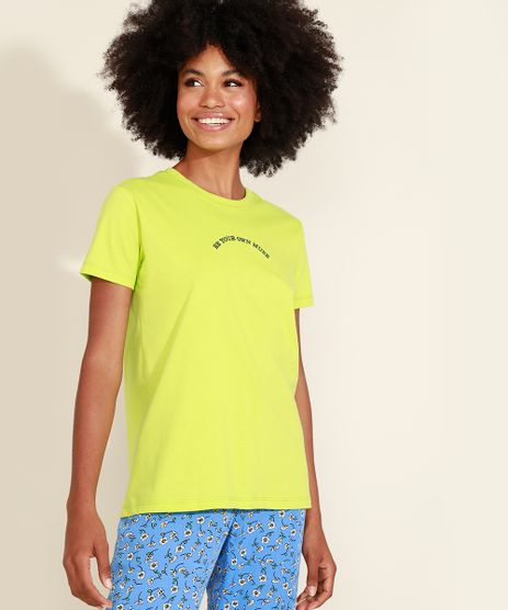 T-Shirt-Feminina-Mindset-com-Bordado--Muse--Manga-Curta-Decote-Redondo-Verde-9975475-Verde_1