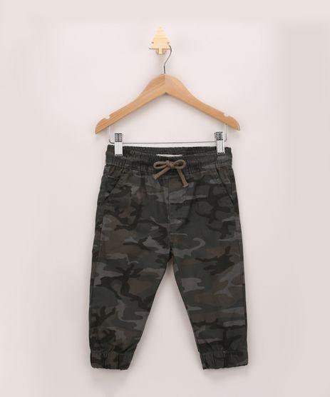 Calca-De-Sarja-Infantil-Jogger-Estampada-Camuflada-Verde-Militar-9760427-Verde_Militar_1