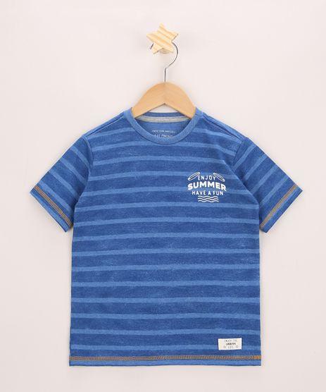 Camiseta-Infantil-Listrado-Manga-Curta-Gola-Careca-Azul-9967958-Azul_1