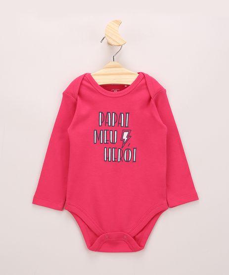 Body-Infantil-Basico--Papai-Meu-Heroi--Manga-Longa-Rosa-Escuro-9947076-Rosa_Escuro_1