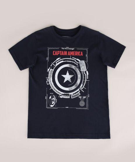 Camiseta-Infantil-Capitao-America-Manga-Curta-Gola-Careca-Azul-Marinho-9970463-Azul_Marinho_1