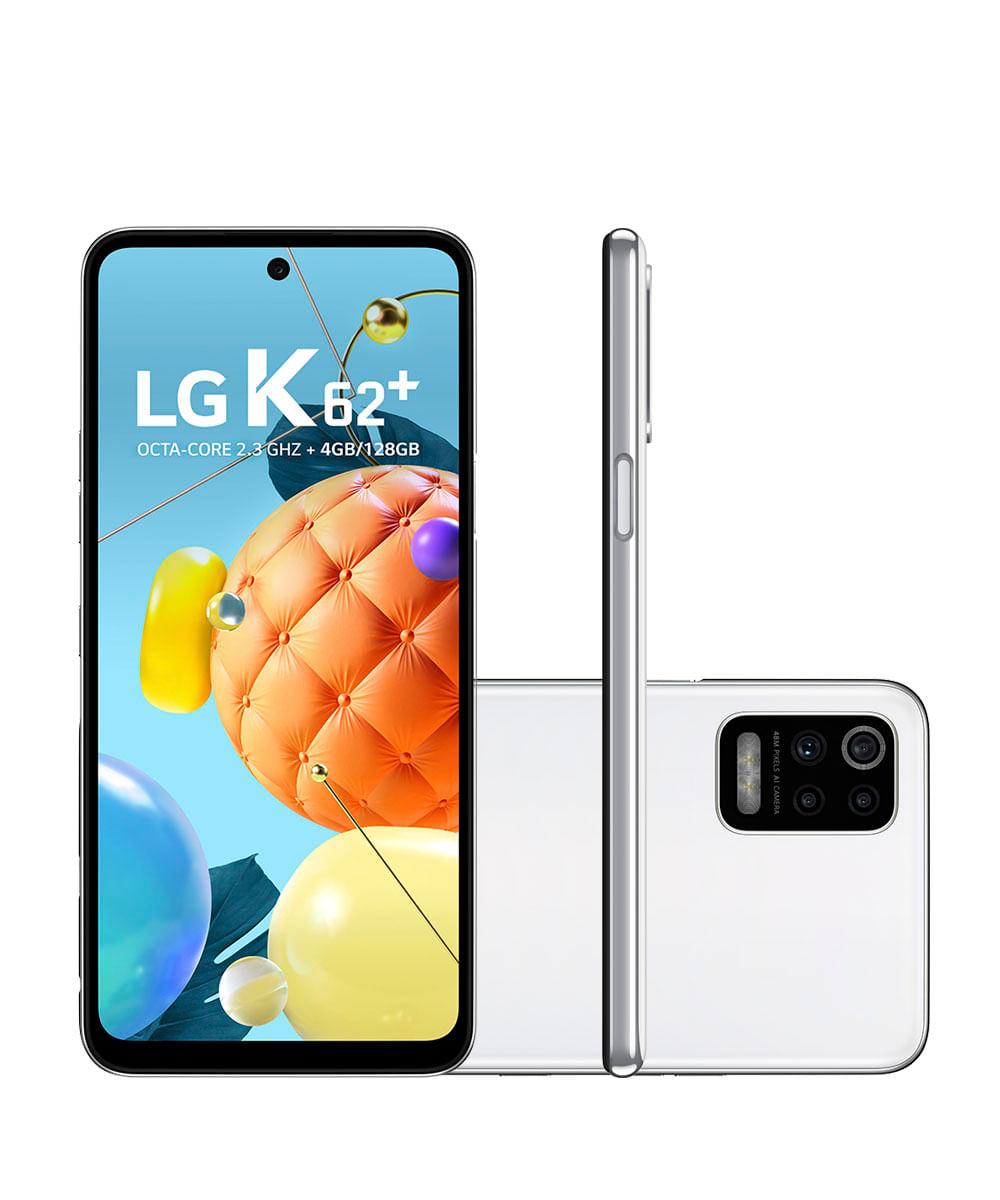 Smartphone LG LM-K525BMW K62+ 128GB Branco