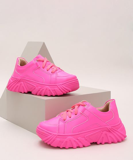 Tenis-Infantil-Chunky-Rosa-Neon-9973133-Rosa_Neon_1